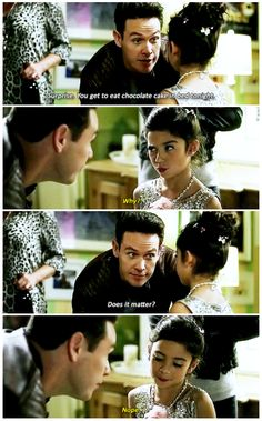Lucifer 1x10, lwhere I am Trixie and Trixie is me.
