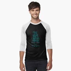 Ripper Man's Baseball Sleeve T-Shirt – Liquid Blue Products - Space My T Shirt, V Neck T Shirt, Camisa Vintage, Seiko Skx, Nasa Clothes, Avicii, Vintage T-shirts, Baseball, Iphone Case Covers