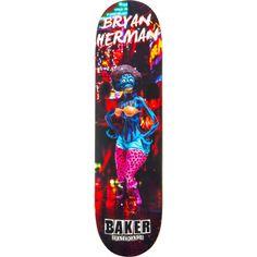 Brand new Baker Bryan Herman Obey Deck - now at Warehouse Skateboards! Bryan Herman, Baker Skateboards, Skateboard Decks, Warehouse, Brand New, Skateboards, Skate Board, Magazine, Barn