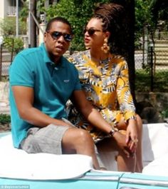 Controversial: At the time the couple were criticised for appearing to break Washington's embargo on travelling to Cuba for mere tourism but who cares they are Jayoncé after all n are the 1st Billionaire Couple