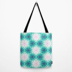 Soft Stars Pattern Tote Bag by Jude's | Society6