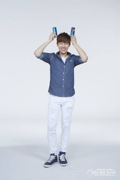 INFINITE ♡ Sunggyu, Dongwoo, Woohyun, Hoya, Sungyeol, L, and Sungjong -  PEPSI CF
