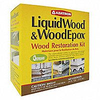 Shop for Abatron LiquidWood and WoodEpox Wood Restoration Kit 24 oz. Get free delivery On EVERYTHING* Overstock - Your Online Home Improvement Shop! Furniture Repair, Wood Furniture, Furniture Ideas, Furniture Makeover, Refurbishing Furniture, Building Furniture, Porch Furniture, Recycled Furniture, Painting Furniture