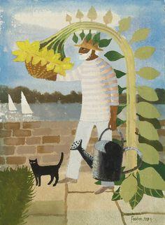 Mary Fedden | Julian and Sunflower