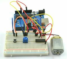 Arduino speed and direction control motor