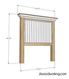 Diy Headboard Plans ana white | build a mantel moulding headboard | free and easy diy