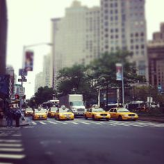 Oh NYC. Oh how hard I want to walk your paved concrete streets and be surrounded by your hidden brownstone jungles...