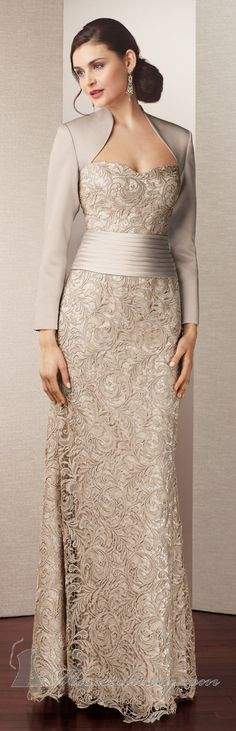 Alyce Jean couture ~ femme, elegant, all the things I want in a holiday gown.