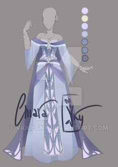 :: Adoptable Chalcedony Outfit: AUCTION CLOSED:: by VioletKy on DeviantArt
