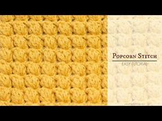Even if you've only ever crocheted the most basic of crochet stitches, the Popcorn Stitch is pretty easy to learn, and only takes a tiny bit of practise.  The popcorn stitch is usually a lot puffier than a bobble stitch, which makes it a great stitch to crochet blankets and scarves with! If you'd like to learn …