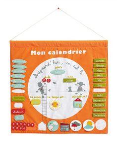 faire un calendrier perp tuel pour enfant activit manuelle pinterest. Black Bedroom Furniture Sets. Home Design Ideas