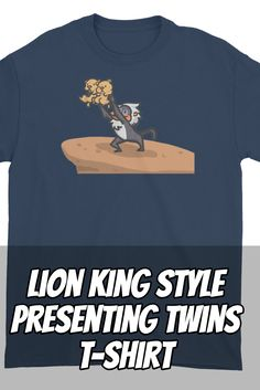 You know you wanted to hold up your twins and show them to the entire world after they were born. Now is your chance with this Lion King inspired design.