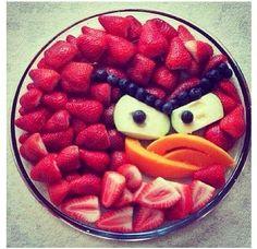 Angry Bird food tray! Too adorbs, lol