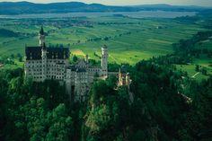 Castillos de Neuschwanstein: el Castillo de los Alpes - 50 paisajes donde siempre debería ser primavera