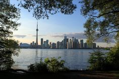 Toronto view from Centre Island.