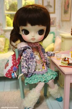 """Lala Berry"" custom Dal doll"