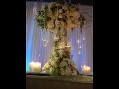 Wedding Buffet video: Using candles for wedding buffet table decorations