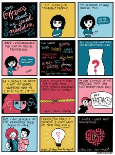 | 15 Comics For Anyone Struggling To Explain What It Means To Be Queer. I love everything about this.