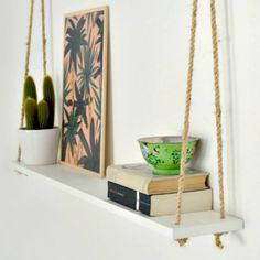 A quick update for your home with this easy shelving project!