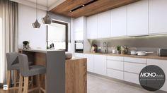 Kuchnia w ciepłych, jasnych barwach - zdjęcie od MONOstudio - Kuchnia - Styl Nowoczesny - MONOstudio