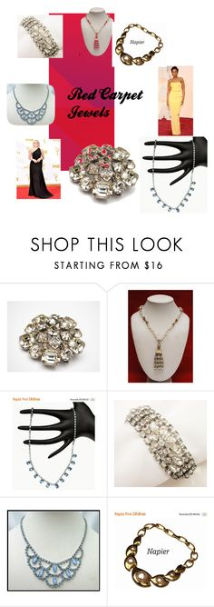 Red Carpet Jewels by cindydcooley on Polyvore featuring women's clothing, women's fashion, women, female, woman, misses and juniors