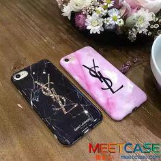 イブサンローランiPhone7カバー 薄型 iPhone7plus携帯ケース 大理石紋 おしゃれ YSL アイフォン6sケース ペア アイホーン6s plusカバー ジャケット型 レディース