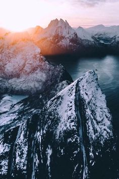 "maureen2musings: "" A cold morning in Northern Norway airpixels """