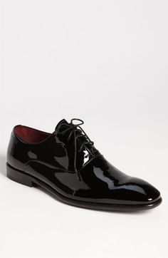 $225 BOSS Black 'Mellio' Plain Toe Oxford available at #Nordstrom  if it must be shiny at least be shiny with style