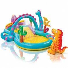 Intex Dinoland Play Center Inflatable Pool 333 x 229 x 112 cm 57135EP   Enjoy this Great Gift. Check LUXURY HOME BRANDS and get this bargain Now!