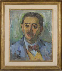 Marcos Tiglio, Retrato de M. Laines | Patrimonio Museo Rosa Galisteo | Ubicación en sala: Hall A Painting, Pink, Frames, Artworks, Portraits, Painting Art, Paintings, Painted Canvas, Drawings