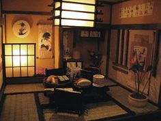 Japanese house and furniture