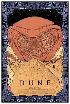 Dune by Kilian Eng. After 800 pages, I am thinking, I'm totally invested in this book and there is NO turning back! It was long, but interesting futuristic desert living. My Rating: 3/5