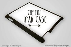 Custom DIY Personalized iPad 2 iPad 3  4 Case Cover Make Your Own