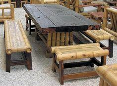 Gartenmöbel Luxus: nachhaltige Außenmöbel aus Bambus