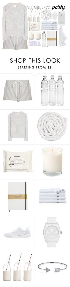"""""""cozy"""" by moniandsara ❤ liked on Polyvore featuring Clu, Jardin des Orangers, VIPP, H&M, Brooks Brothers, NIKE, adidas Originals, Dress My Cupcake, Bling Jewelry and slumberparty"""