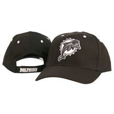 Miami Dolphins Black and Gray Tonal Adjustable Hat by NFL. $17.95. Item is fulfilled by Amazon. Adjustable one size fits all. NFL hat makes a perfect gift for any NFL fan