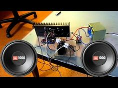 How to make home subwoofer amplifier (LA 4440) - YouTube