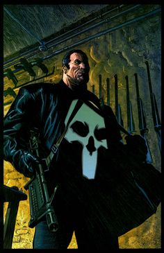 the punisher pictures for large desktop - the punisher category Punisher Marvel, Punisher Max, Marvel Comic Books, Comic Book Heroes, Comic Books Art, Comic Art, Dc Comics Art, Marvel Comics, Misty Knight