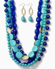 charming charlie | Ara Stone Bead Necklace | UPC: 410006593480 #charmingcharlie