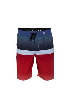 The Hurley Phantom Blocked 21″ Men's Boardshorts are made with quick-drying, stretchy fabric for comfort and freedom to move in the water.