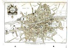 Geopolitical - Map - Europe - Ireland, Dublin 1780