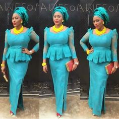 Nigeria Lace Aso Ebi Styles For Wedding Guest http://www.dezangozone.com/2016/09/nigeria-lace-aso-ebi-styles-for-wedding.html