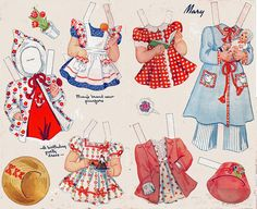 Mary's clothes by cluttershop, via Flickr