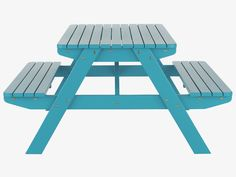 I really want to paint our picnic table blue...