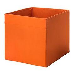 DRÖNA Box - orange - IKEA