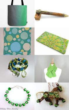 Greens by Marie ArtCollection on Etsy--Pinned with TreasuryPin.com