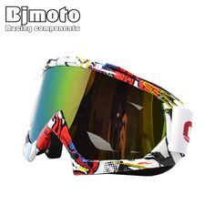 BJ-MG-001A uomo/donne motocross occhiali occhiali ciclismo occhio ware MX off Road caschi occhiali Sport occhiali per moto