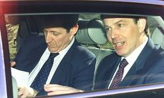 Alastair Campbell and Tony Blair in 2001. Labour sowed the seeds for Brexit !