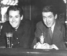 """wehadfacesthen: """" Henry Fonda and James Stewart taking a break, The two stars had been roommates in New York City while auditioning and appearing on Broadway. Fonda came to Hollywood first, and. Hollywood Men, Hooray For Hollywood, Golden Age Of Hollywood, Vintage Hollywood, Hollywood Stars, Classic Hollywood, Old Movie Stars, Classic Movie Stars, Classic Movies"""