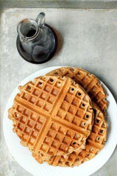 whole wheat waffles | Next Door Baker